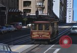 Image of cable cars of San Francisco San Francisco California USA, 1968, second 8 stock footage video 65675021684