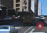 Image of cable cars of San Francisco San Francisco California USA, 1968, second 9 stock footage video 65675021684
