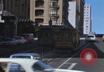 Image of cable cars of San Francisco San Francisco California USA, 1968, second 10 stock footage video 65675021684