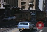 Image of cable cars of San Francisco San Francisco California USA, 1968, second 12 stock footage video 65675021684