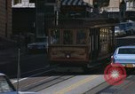 Image of cable cars of San Francisco San Francisco California USA, 1968, second 14 stock footage video 65675021684