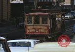 Image of cable cars of San Francisco San Francisco California USA, 1968, second 15 stock footage video 65675021684