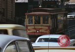Image of cable cars of San Francisco San Francisco California USA, 1968, second 16 stock footage video 65675021684
