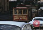 Image of cable cars of San Francisco San Francisco California USA, 1968, second 17 stock footage video 65675021684