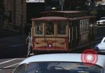 Image of cable cars of San Francisco San Francisco California USA, 1968, second 18 stock footage video 65675021684