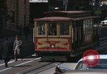 Image of cable cars of San Francisco San Francisco California USA, 1968, second 19 stock footage video 65675021684