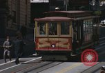 Image of cable cars of San Francisco San Francisco California USA, 1968, second 20 stock footage video 65675021684
