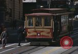 Image of cable cars of San Francisco San Francisco California USA, 1968, second 21 stock footage video 65675021684