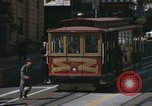 Image of cable cars of San Francisco San Francisco California USA, 1968, second 22 stock footage video 65675021684