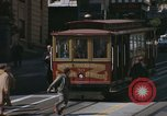Image of cable cars of San Francisco San Francisco California USA, 1968, second 23 stock footage video 65675021684