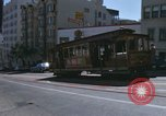 Image of cable cars of San Francisco San Francisco California USA, 1968, second 35 stock footage video 65675021684