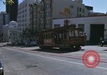 Image of cable cars of San Francisco San Francisco California USA, 1968, second 36 stock footage video 65675021684