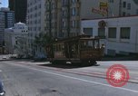Image of cable cars of San Francisco San Francisco California USA, 1968, second 37 stock footage video 65675021684