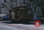 Image of cable cars of San Francisco San Francisco California USA, 1968, second 42 stock footage video 65675021684