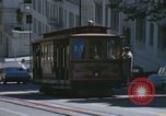 Image of cable cars of San Francisco San Francisco California USA, 1968, second 43 stock footage video 65675021684