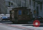 Image of cable cars of San Francisco San Francisco California USA, 1968, second 44 stock footage video 65675021684