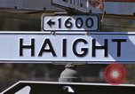 Image of Hippies San Francisco California USA, 1968, second 3 stock footage video 65675021688