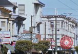 Image of Hippies San Francisco California USA, 1968, second 55 stock footage video 65675021690