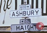 Image of Haught-Ashbury hippies San Francisco California USA, 1968, second 3 stock footage video 65675021691
