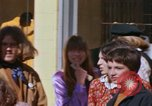 Image of Haught-Ashbury hippies San Francisco California USA, 1968, second 21 stock footage video 65675021691