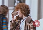 Image of Hippies San Francisco California USA, 1968, second 8 stock footage video 65675021692