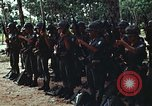 Image of military training Vietnam, 1971, second 22 stock footage video 65675021693