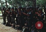 Image of military training Vietnam, 1971, second 23 stock footage video 65675021693