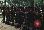 Image of military training Vietnam, 1971, second 24 stock footage video 65675021693