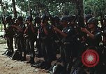 Image of military training Vietnam, 1971, second 25 stock footage video 65675021693