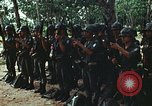 Image of military training Vietnam, 1971, second 28 stock footage video 65675021693