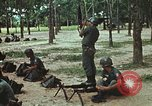 Image of military training Vietnam, 1971, second 31 stock footage video 65675021693