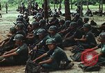 Image of military training Vietnam, 1971, second 40 stock footage video 65675021693