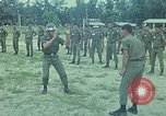 Image of military training Vietnam, 1971, second 8 stock footage video 65675021694