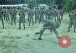 Image of military training Vietnam, 1971, second 21 stock footage video 65675021694