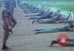 Image of military training Vietnam, 1971, second 9 stock footage video 65675021695