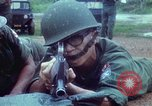 Image of military training Vietnam, 1971, second 21 stock footage video 65675021695