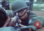 Image of military training Vietnam, 1971, second 22 stock footage video 65675021695
