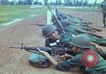 Image of military training Vietnam, 1971, second 25 stock footage video 65675021695