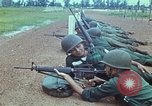 Image of military training Vietnam, 1971, second 27 stock footage video 65675021695