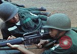 Image of military training Vietnam, 1971, second 38 stock footage video 65675021695