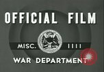 Image of Signal Corps European Theater, 1943, second 11 stock footage video 65675021719