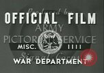 Image of Signal Corps European Theater, 1943, second 16 stock footage video 65675021719