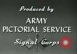 Image of Signal Corps European Theater, 1943, second 18 stock footage video 65675021719