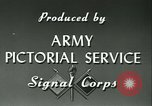 Image of Signal Corps European Theater, 1943, second 19 stock footage video 65675021719