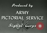 Image of Signal Corps European Theater, 1943, second 20 stock footage video 65675021719