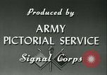 Image of Signal Corps European Theater, 1943, second 21 stock footage video 65675021719