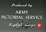 Image of Signal Corps European Theater, 1943, second 22 stock footage video 65675021719