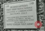 Image of First Army Signal Service message coding and decoding France, 1944, second 2 stock footage video 65675021725