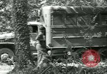 Image of First Army Signal Service message coding and decoding France, 1944, second 15 stock footage video 65675021725