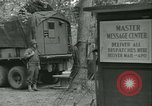 Image of First Army Signal Service message coding and decoding France, 1944, second 25 stock footage video 65675021725